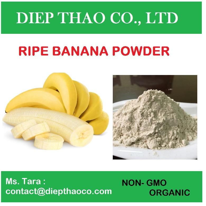 Banana powder