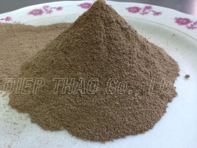 Sargassum powder
