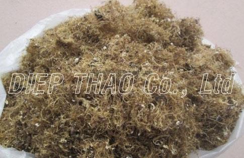Washed agar seaweed